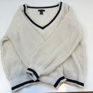 Sweaters - White Knit sweater